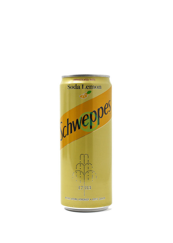 Schweppes Soda Lemon 330ml