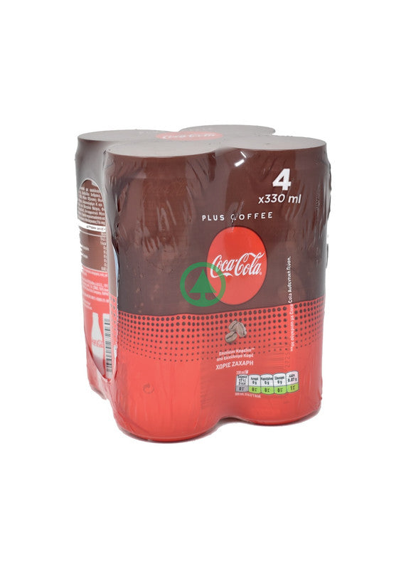Coca Cola Coffee No Sugar 4X330ml
