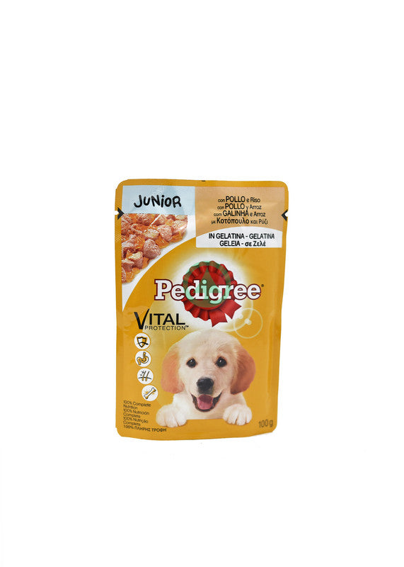 Pedigree Pouch Juniorchick100g