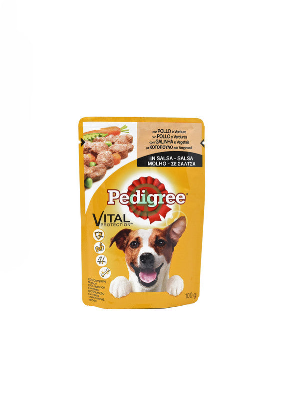 Pedigree Pouch Chicken 100g