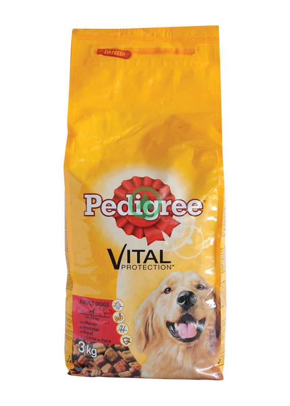 Pedigree Adult Chicken & Rice 3Kg