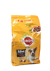 Pedigree Dry Adultl Mini Pltry1.4Kg