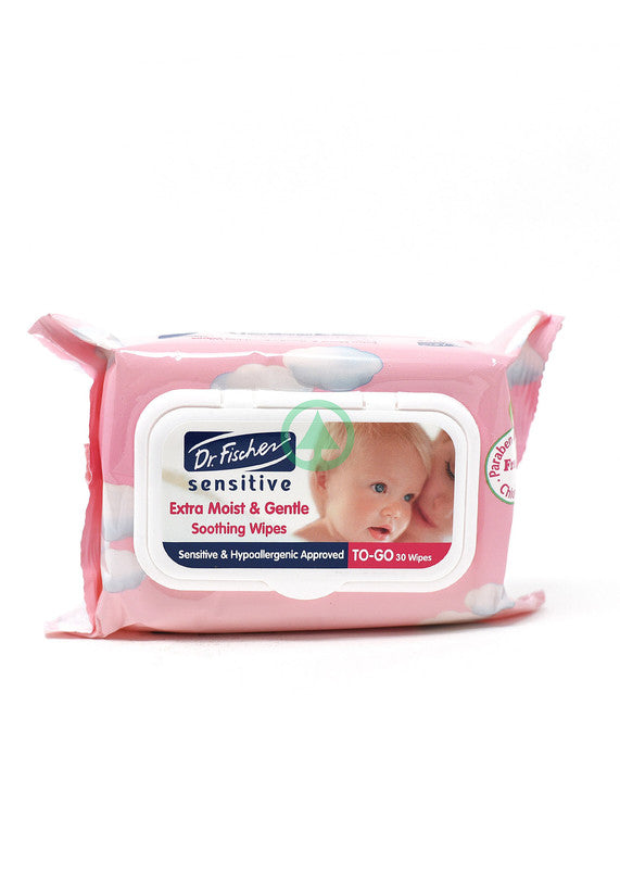 Dr Fischer  Sens Baby Wipes To-Go 30S