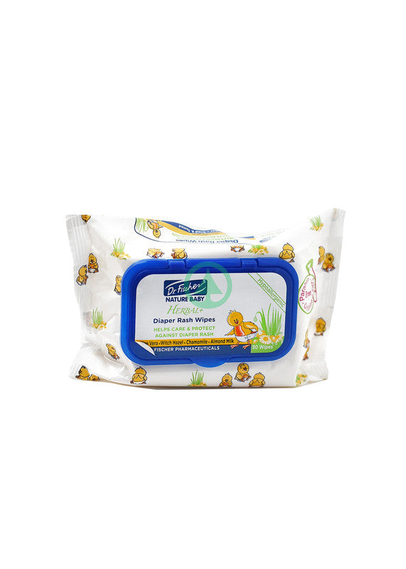 Dr Fischer Herbal Baby Wipes X30S