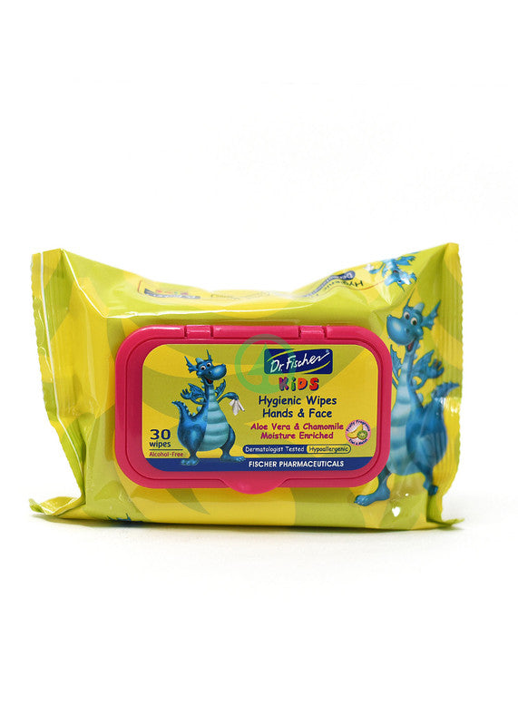 Dr Fischer  Kids Hygienic Wipes 30S