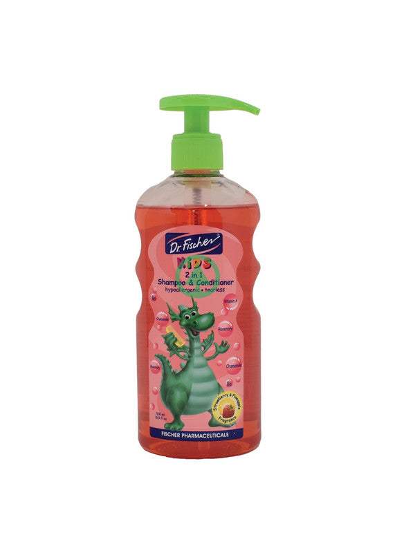 Dr Fischer  Kids 2 In 1 Shampoo 500ml