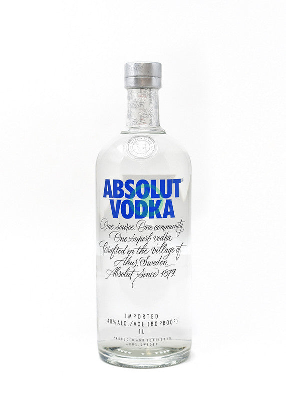 Absolut Vodka Blue 1L