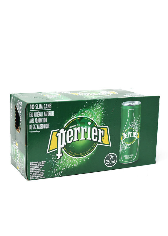 Perrier S.Water Slim Can 10X25cl
