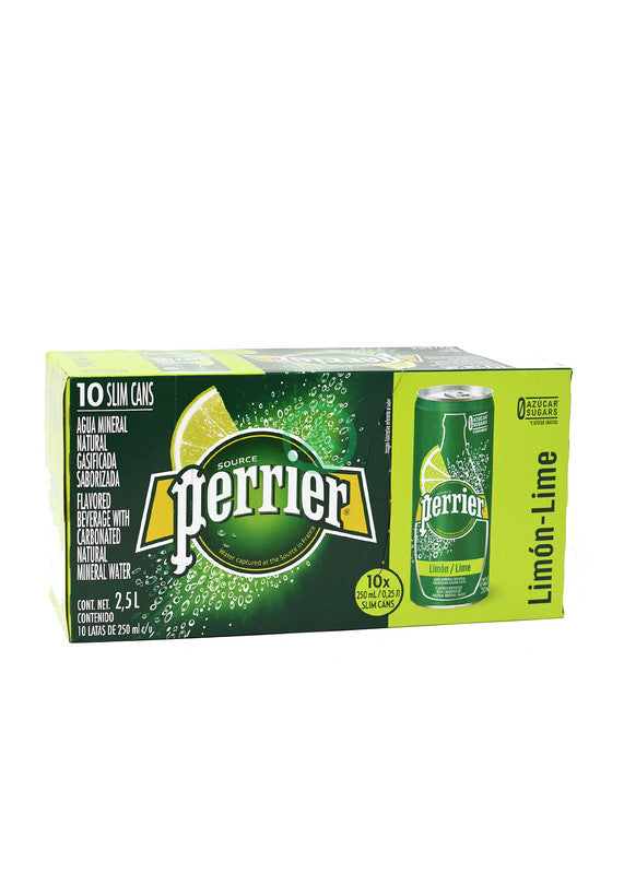Perrier Lime  Sp.W Sl 10X25cl