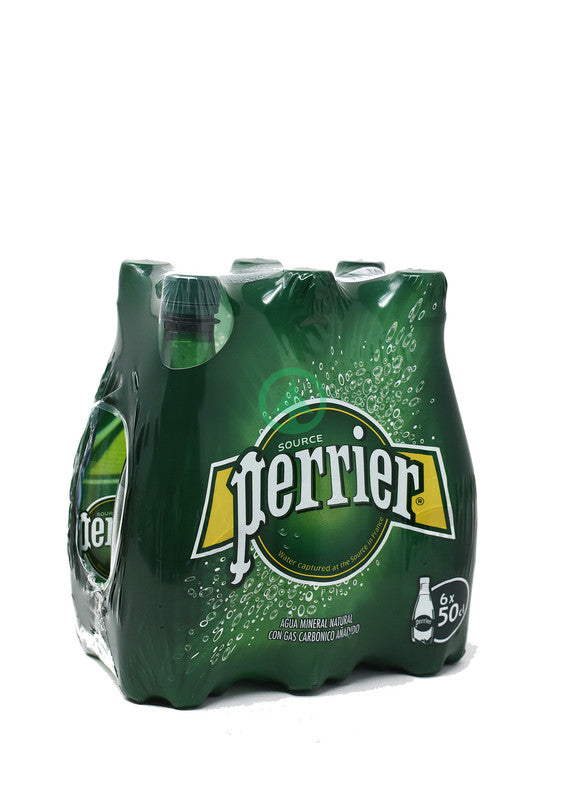 Perrier Sparkling Water Pet  6X500ml