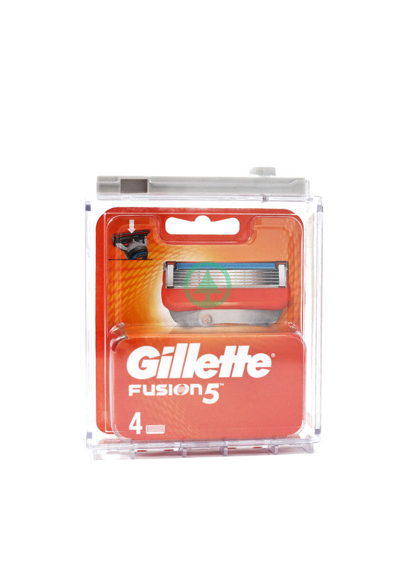 Gillete Fusion Manual Refills 4S