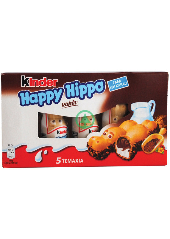 Kinder Happy Hippo Cacao20.5g
