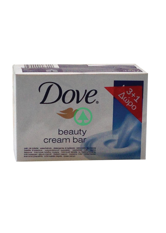 Dove Soap White Shrnk 4X100g