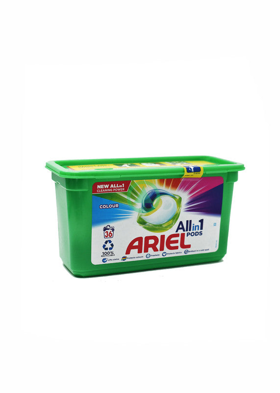 Ariel Pods Color 36Pc