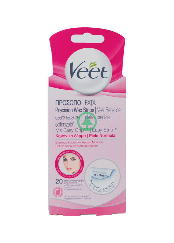 Veet Strips Face Normal 20S