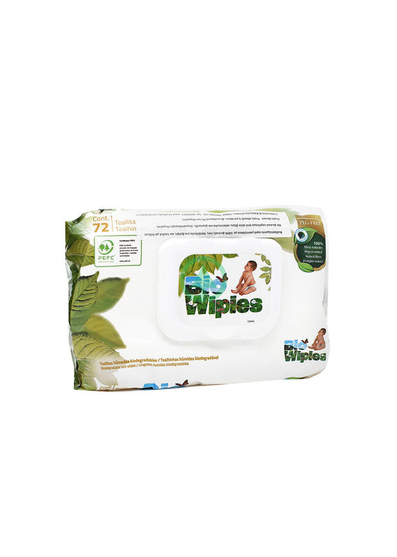 Bio Baby Bio Wipes 72Pc