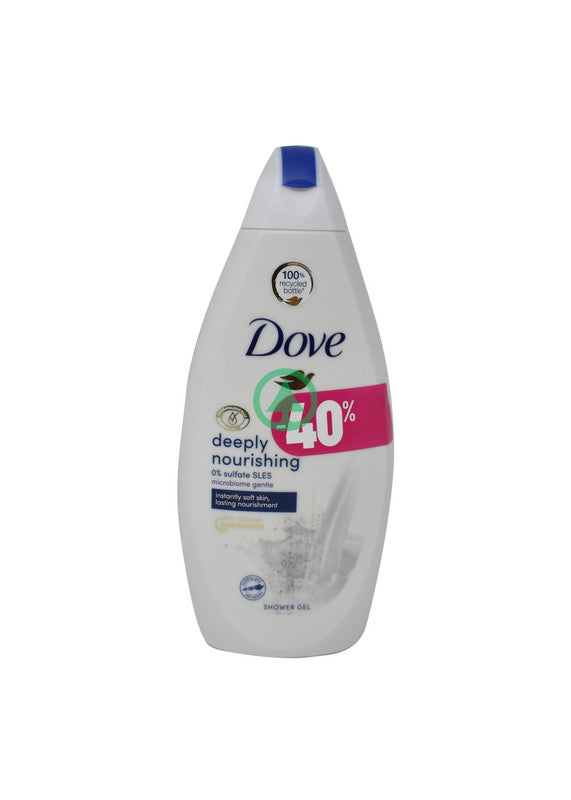 Dove Shower Gel Deepnour 500ml -40%