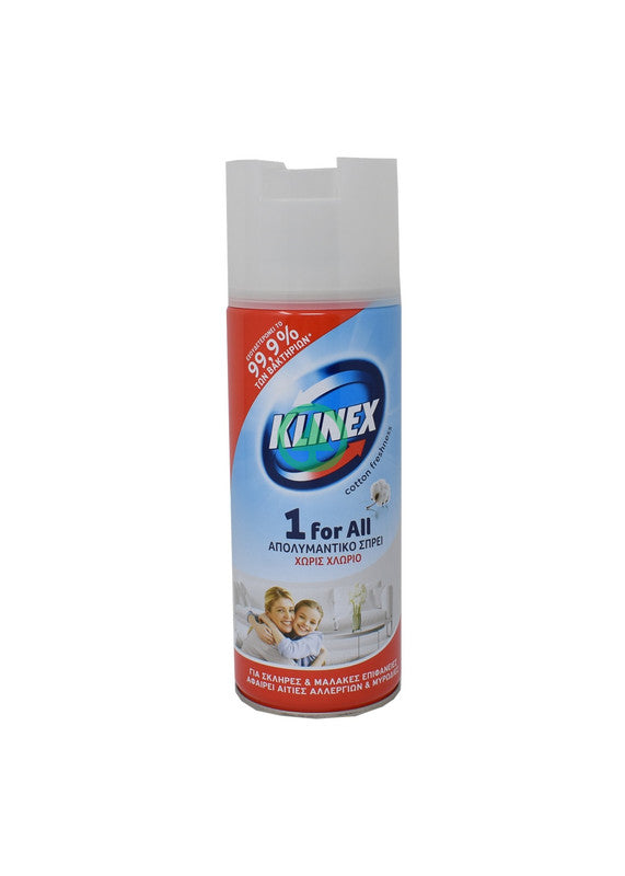 Klinex Aerosol Spray Fresh 400ml