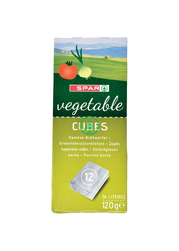 SPAR Vegetable Bouillon 120g