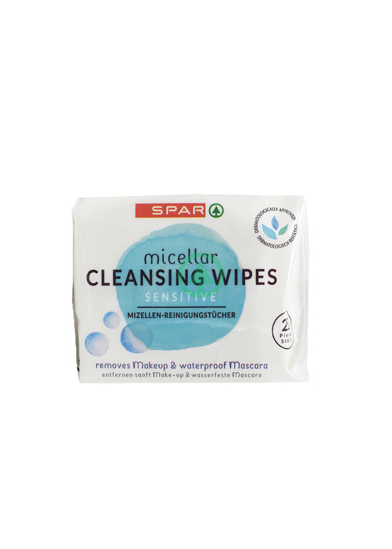 SPAR Facial Clean Wipes 25s