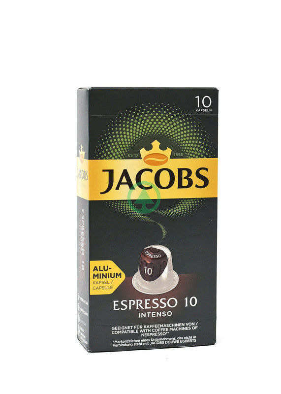 Jacobs Caps Intenso 10Cps