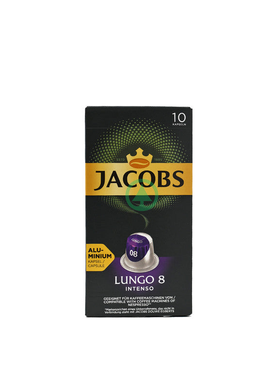 Jacobs Capsules Lungo Ints 10Pc