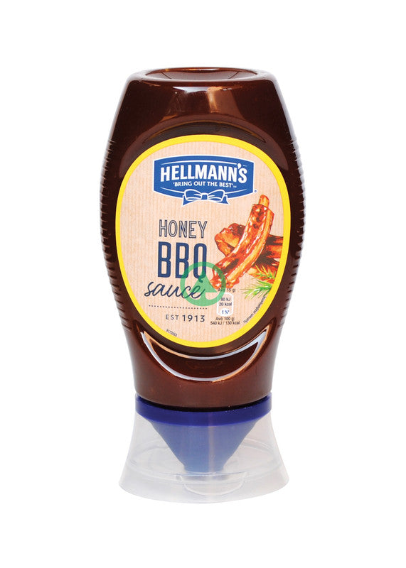 Hellmanns Honey Bbq Saus 250ml