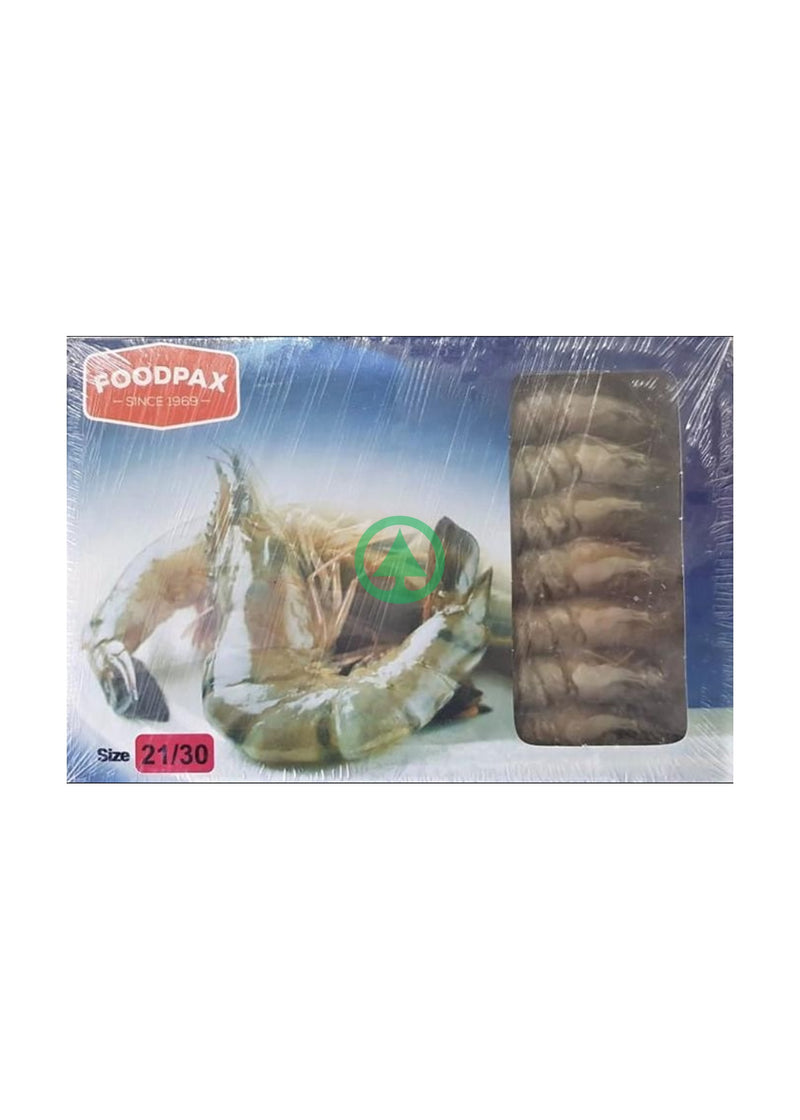 Foodpax BlackTiger Shrimps 21/30 1000g