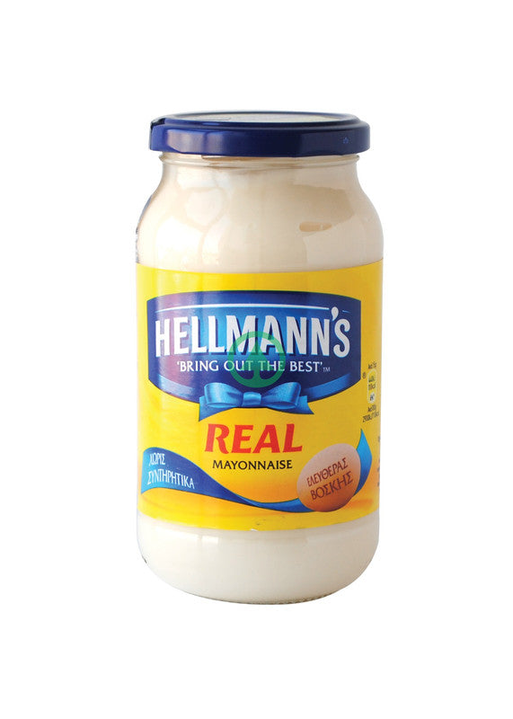 Hellmanns Mayonnaise Gls 450ml