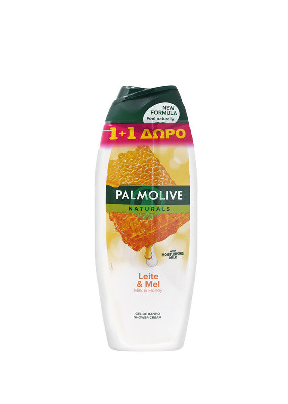 Palmolive Bath Milk&Honey 500ml 1+1