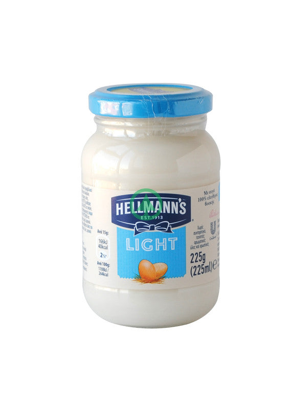 Hellmanns Light Mayonnais 225ml