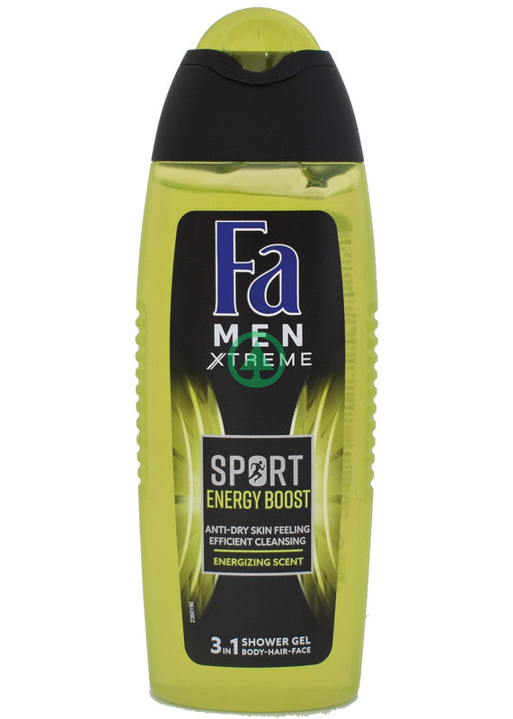 Fa Shower Gel Sd Power Boost 250ml