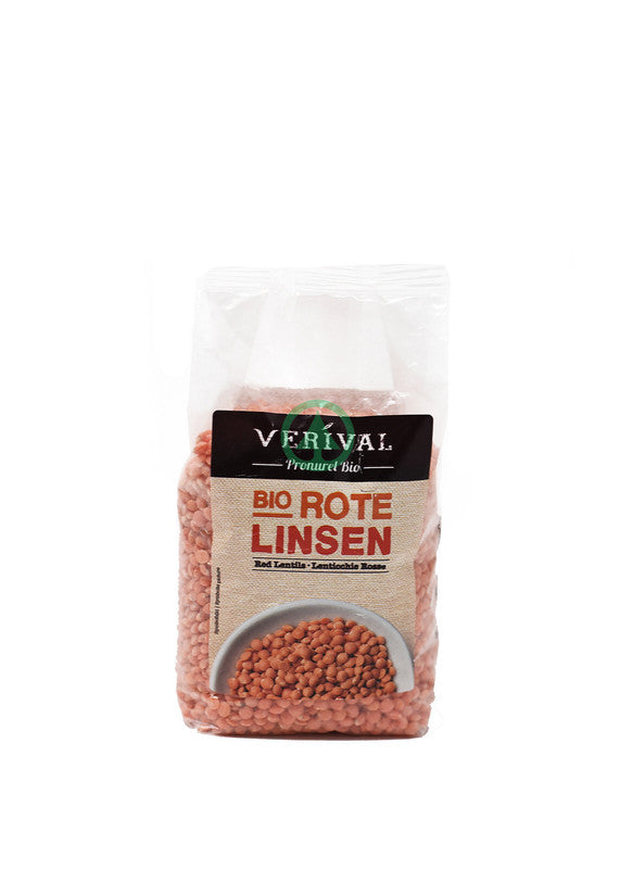 Verival Red Lentils 250g