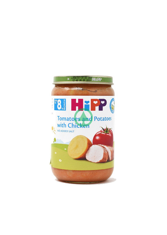 Hipp Tomatoes & Potatoes & Chicken 220g