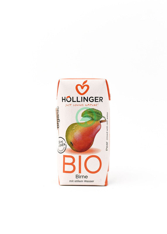 Hollinger Bio Pear Cloudy 200ml