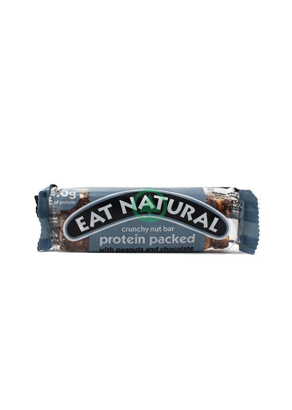 Eat Natural Protein Bar W Peanut&Choc 45g