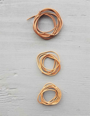 Cocoknits - Leather Cord Set