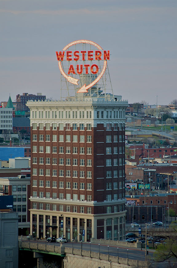 Western Auto Sign