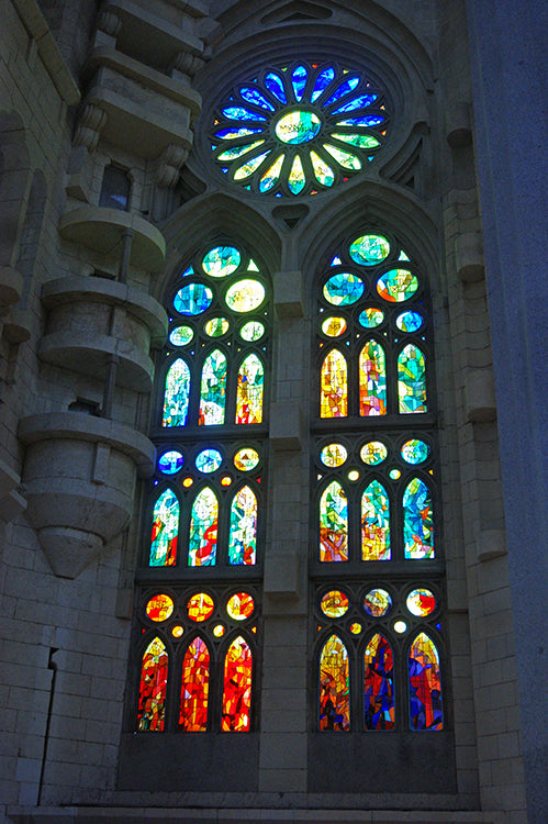 Sagrada Familia Window
