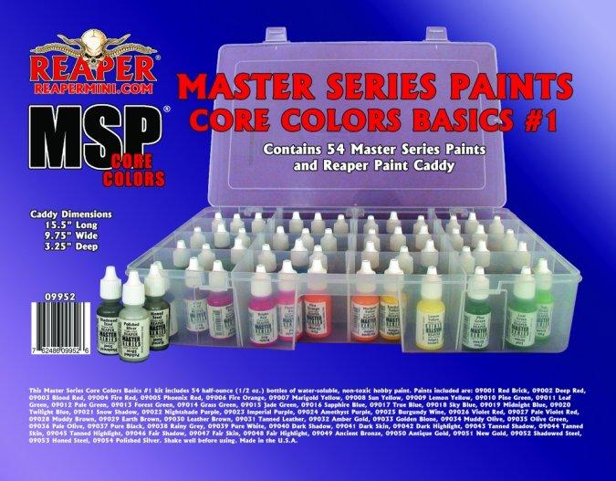 09952 Master Series Paints Core Colors Basics #1