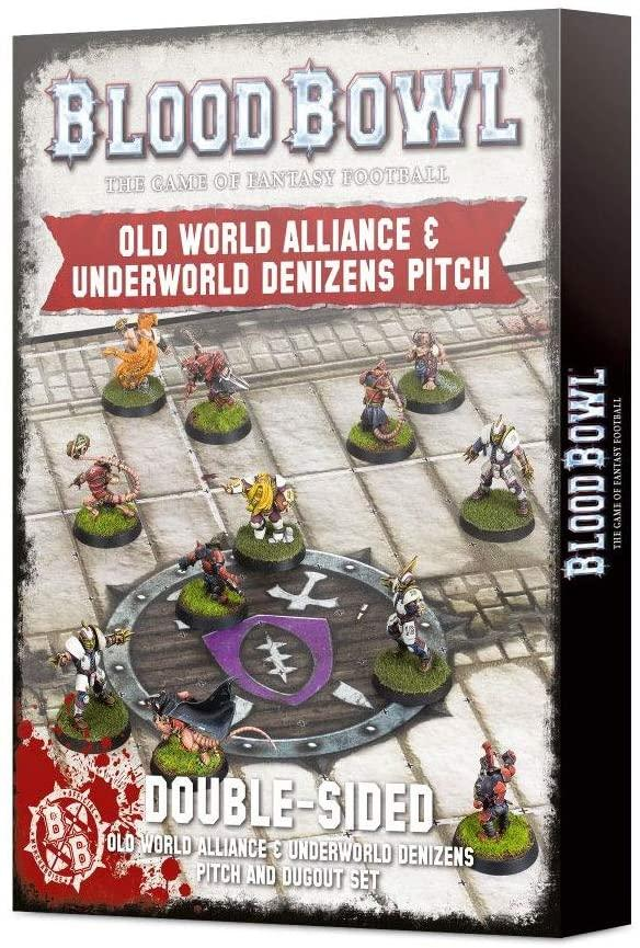200-80 Blood Bowl: Old World Underworld Pitch