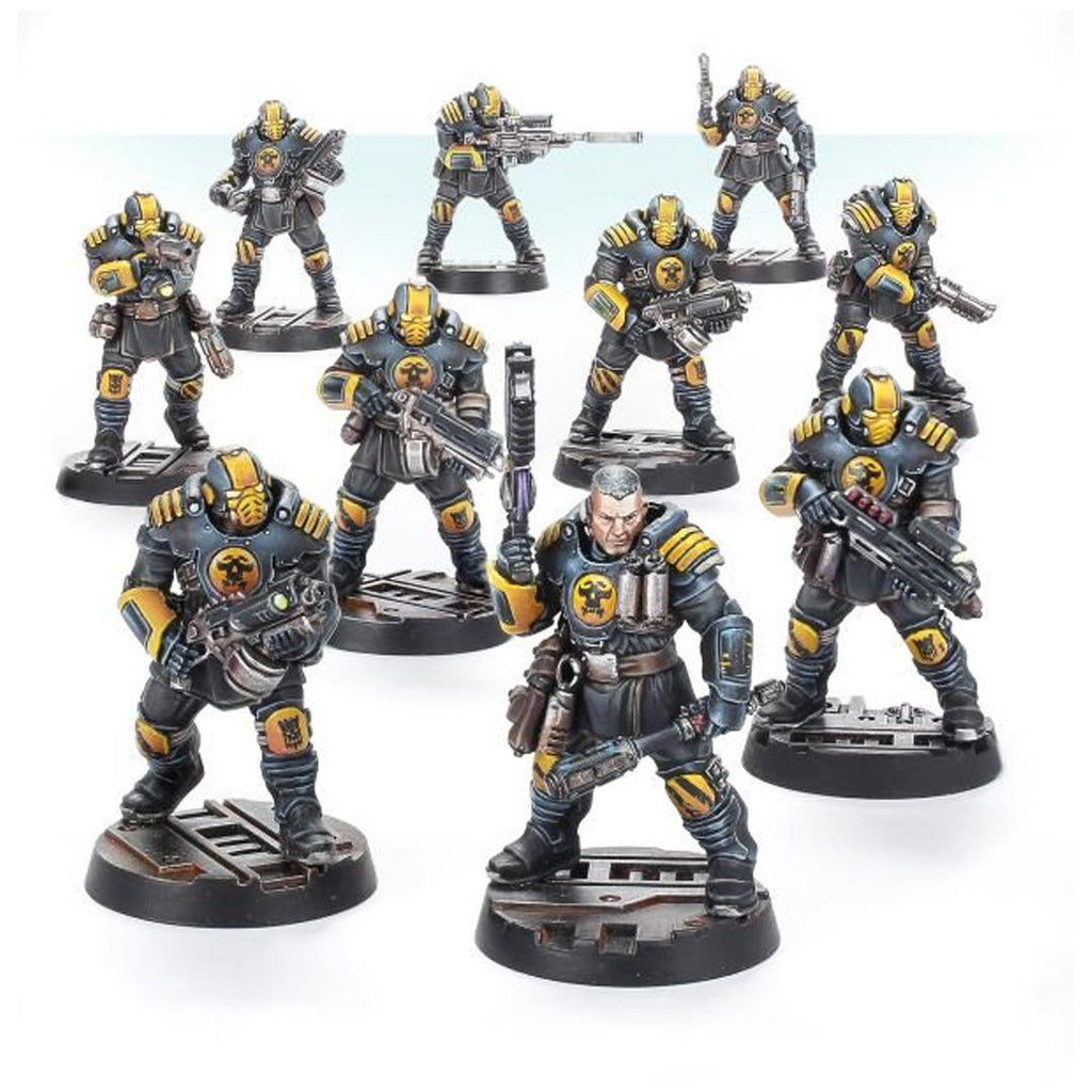 300-45 Necromunda Palanite Enforcer Patrol