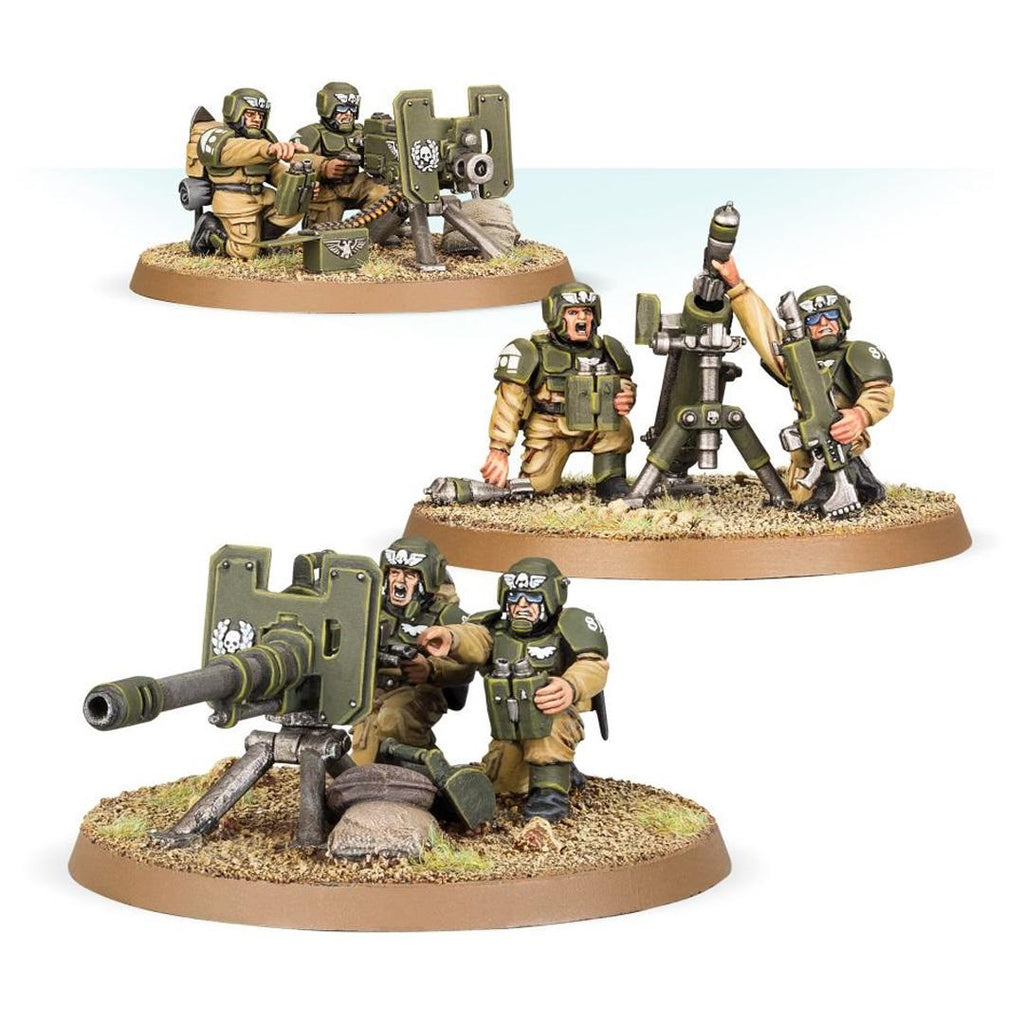 47-19 Astra Militarum Cadian Heavy Weapons Squad