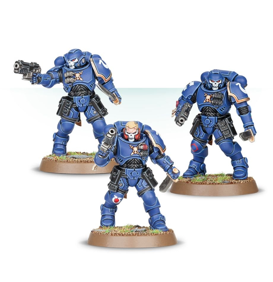 48-66 Space Marine Easy to Build Primaris Reivers