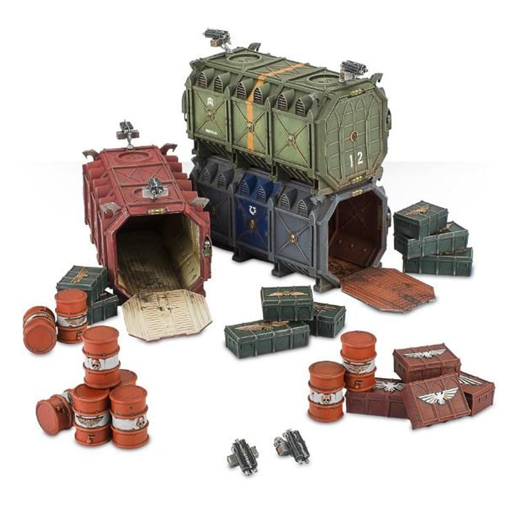 64-98 Sector Imperialis Munitorum Armored Containers