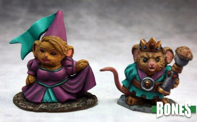 77286 Mousling King + Princess