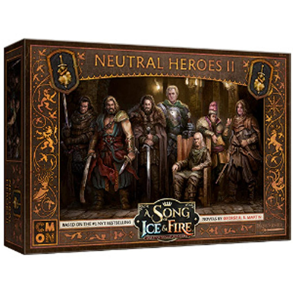 A Song of Ice & Fire: Neutral Heroes Box #2 Expansion