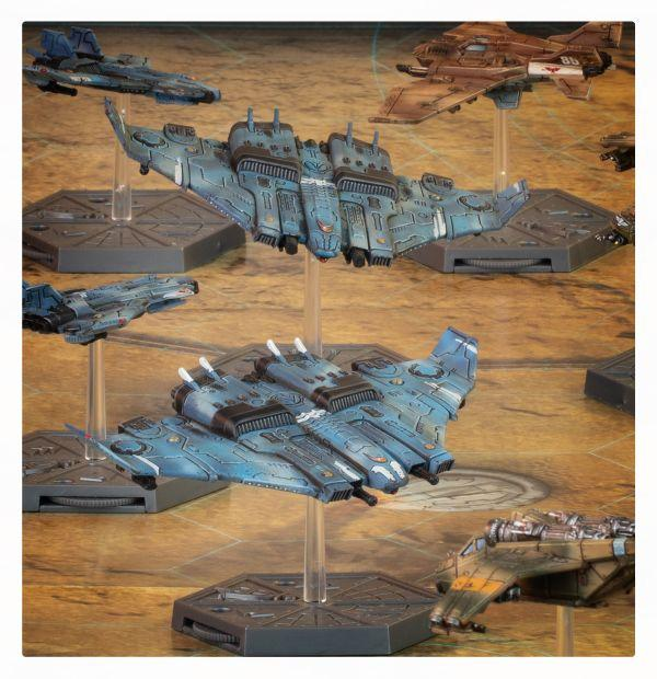 Aeronautica Imperialis: Tau Air Caste Tiger Shark Fighter Bombers