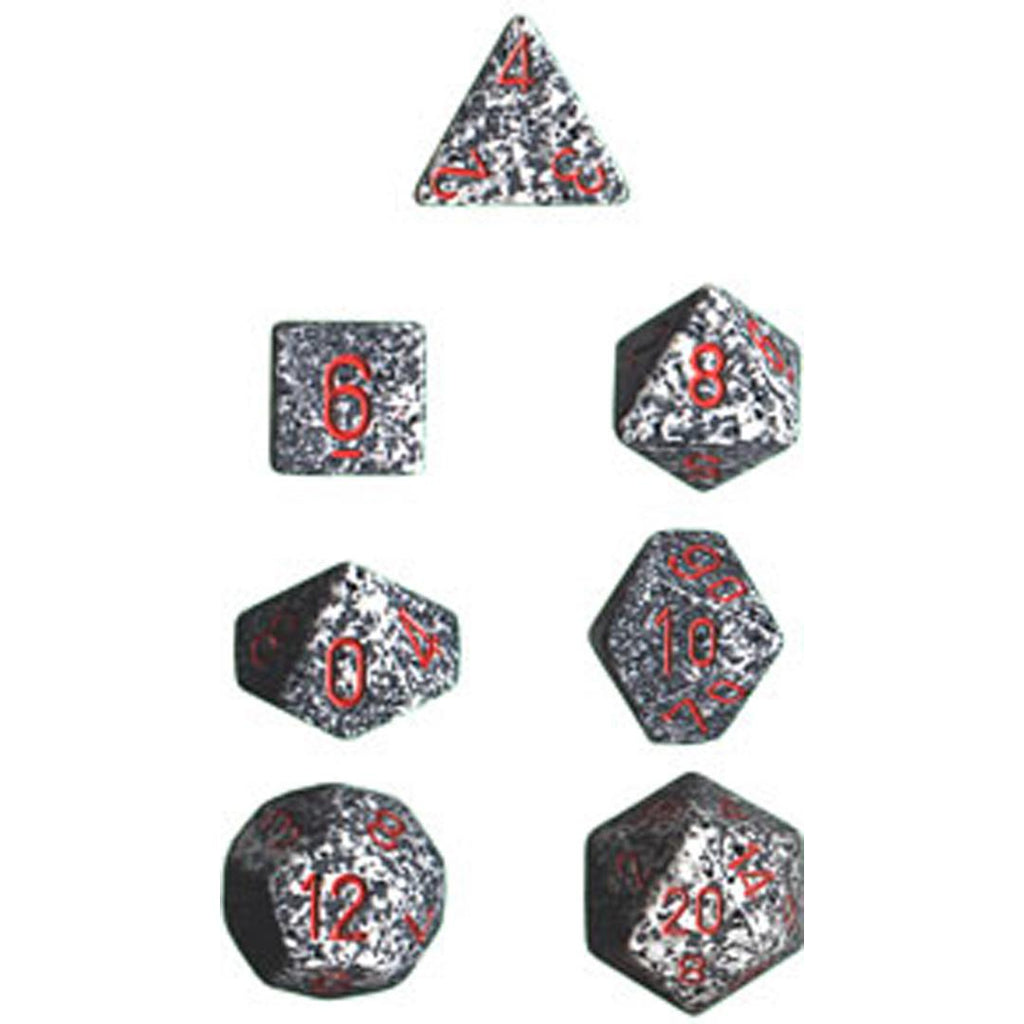 Chessex Polyhedral Dice Set: Granite Speckled (7)