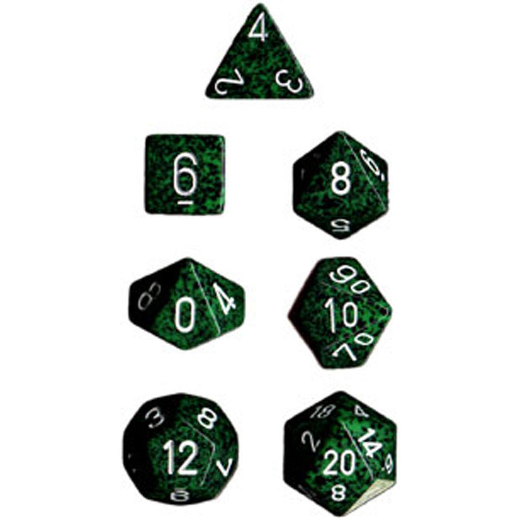 Chessex Polyhedral Dice Set: Recon Speckled (7)